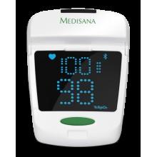 Уред за измерване нивото на кислород в кръвта и сърдечния пулс Medisana Pulse oximeter PM 150 connect, Германия, 79457