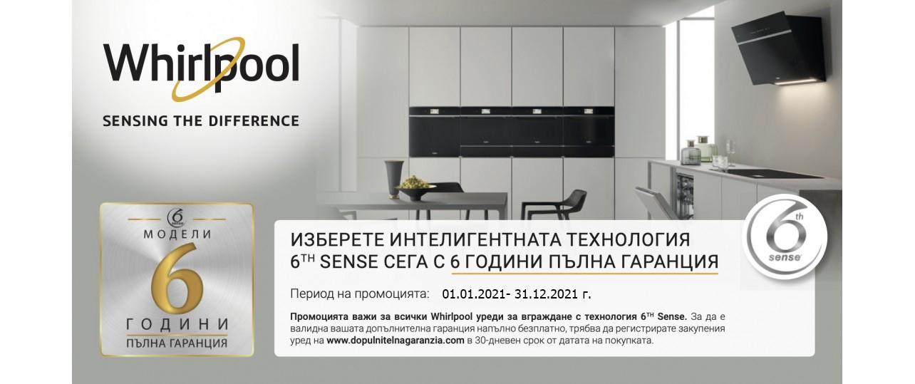 Promo Whirlpool Built In 6TH SENSE