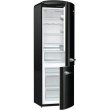 Комбиниран хладилник с фризер Gorenje ORK192BK