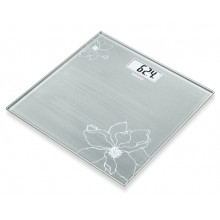 Везна Beurer GS 10 Glass bathroom scaleGray; Automatic switch-off