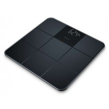 Везна Beurer GS 235 Black Glass bathroom scale non-slip surface; Automatic switch-off