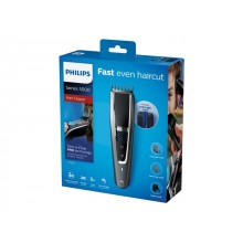 PHILIPS Hairclipper series 5000 Washable Trim-n-Flow PRO technology 28 length settings 90 min cordless use/1h charge