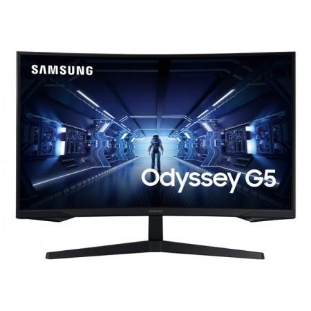 SAMSUNG LC32G55TQWRXEN 32inch Curved VA QHD 2560x1440 16:9 2500:1 250cd/m2 144Hz 1ms MPRT Curved HDMI DP 75x75 178/17