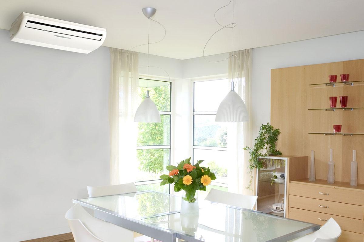 подово таванен тип климатици